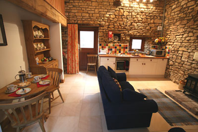 Whippletree Cottage interior